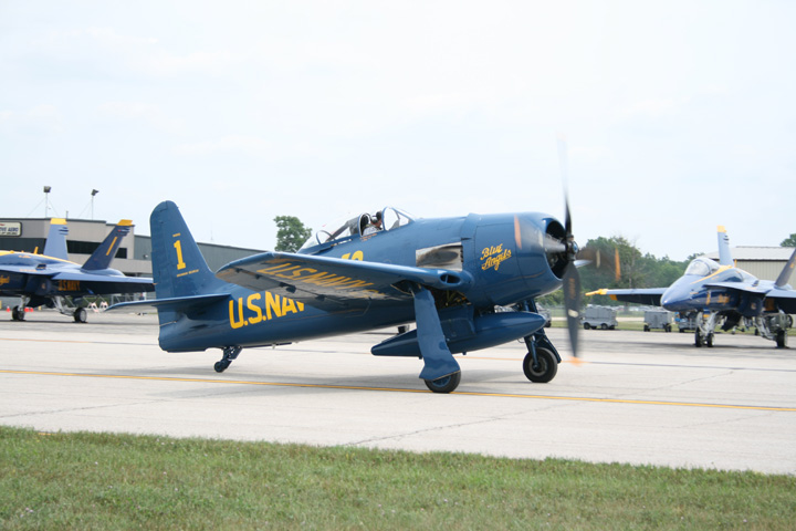Blue Angel Bearcat